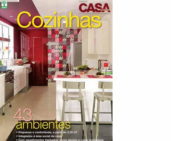 clarisse reade revista cozinhas casa claudia 2011
