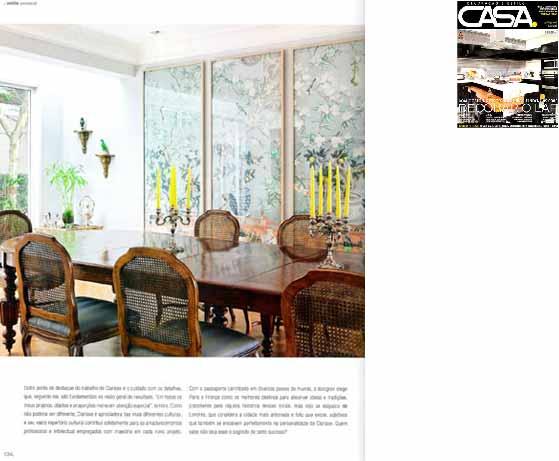 clarisse reade revista casa decor e estilo março 2011