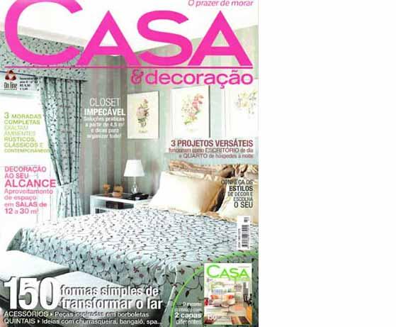 clarisse reade revista casa e decoração fevereiro de 2011