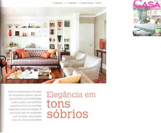 clarisse reade revista casa e decoração fevereiro 2011