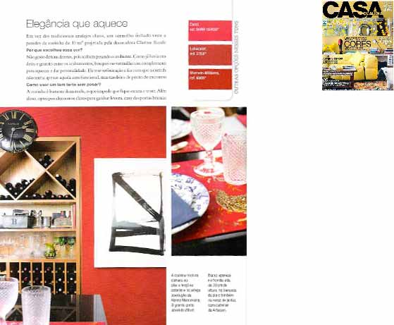 clarisse reade revista casa claudia