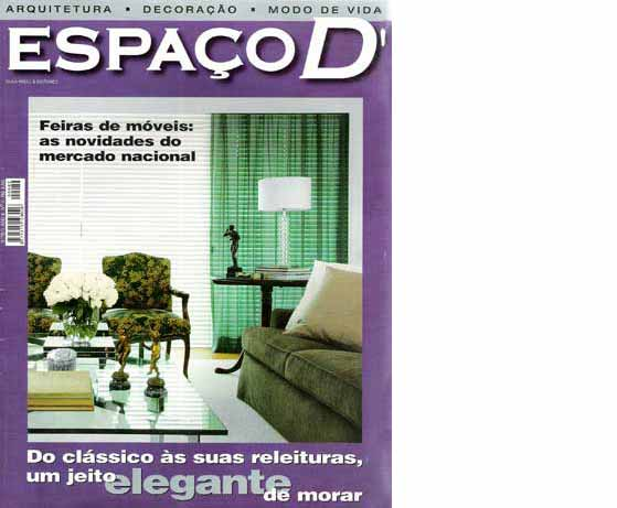clarisse reade revista espaço d 2008