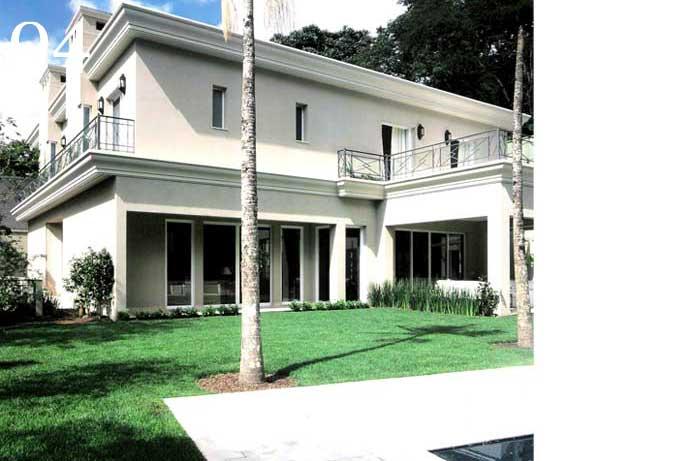clarisse reade fachada residência gramada