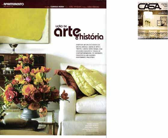 clarisse reade revista casa e decoração e estilo 2007
