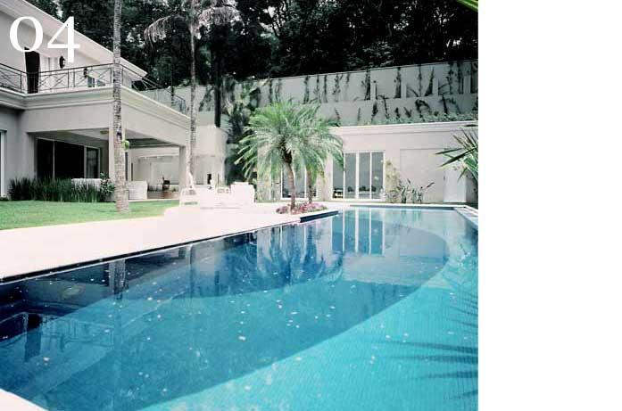 clarisse reade decor externo área de lazer piscina gramada arquitetura pasisagismo
