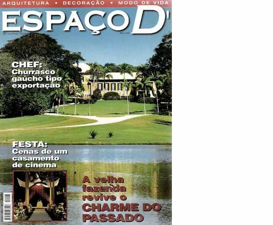 clarisse reade revista espaço d 2005