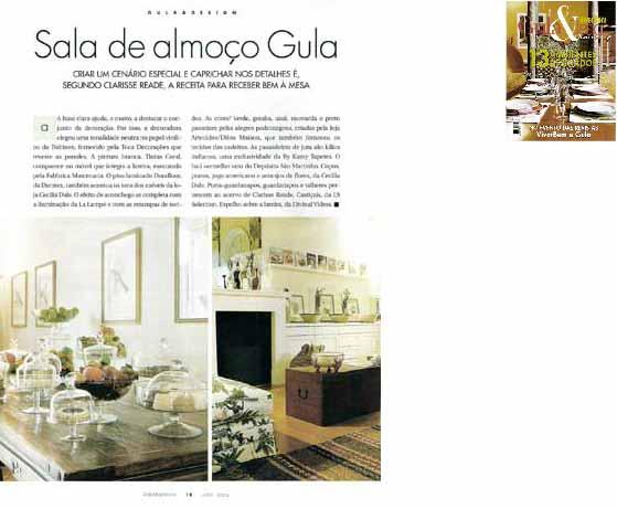 clarisse reade revista viver bem guia design 2004