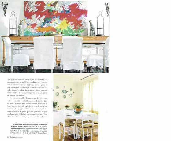 clarisse reade revista anuario casa e mercado 2001 - 2002
