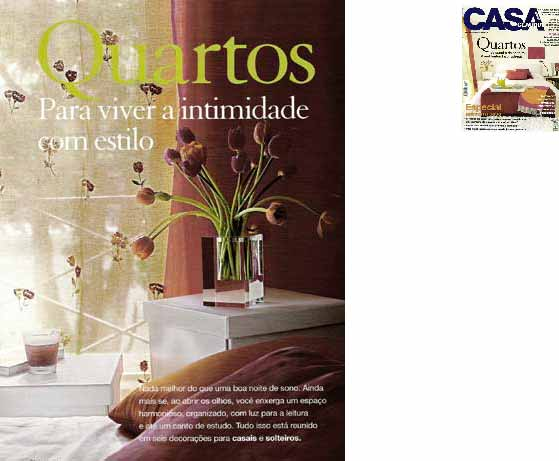 clarisse reade revista casa claudia 2001