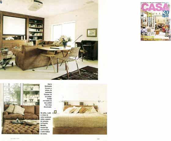 clarisse reade revista viver bem casa claudia maio 1997