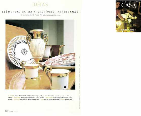 clarisse reade revista casa vogue especial 1996