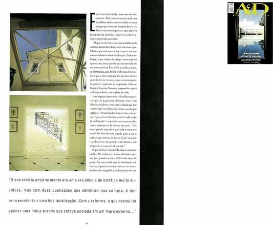 clarisse reade revista A&D 1996